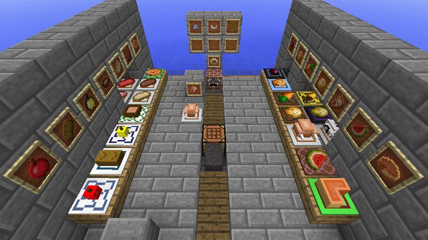 How To Make A Food Plate In Minecraft
